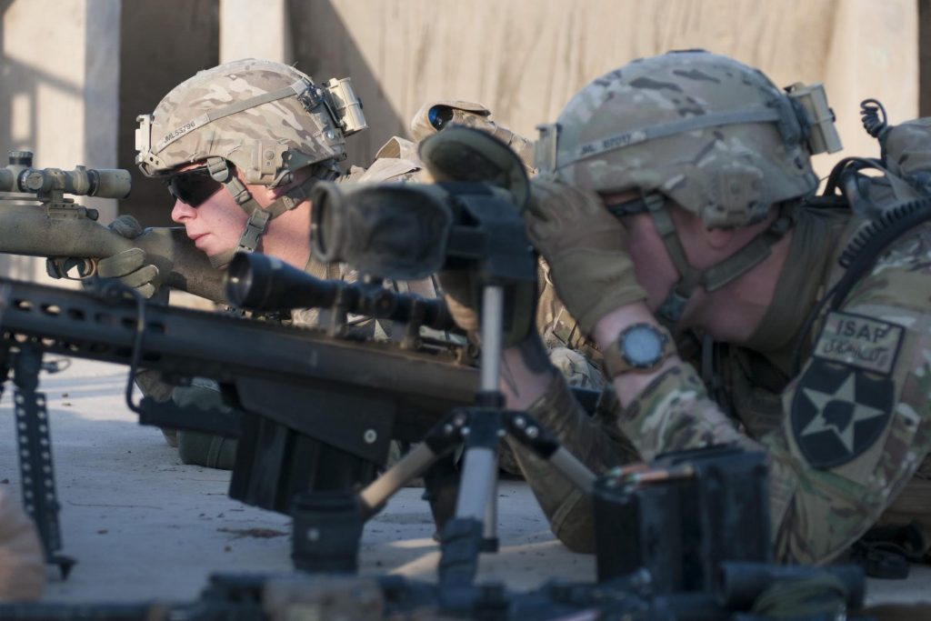 US Army Sniper Training
