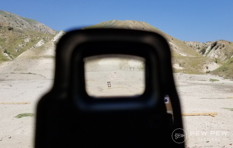 EOTech EXPS2-0 At the Range