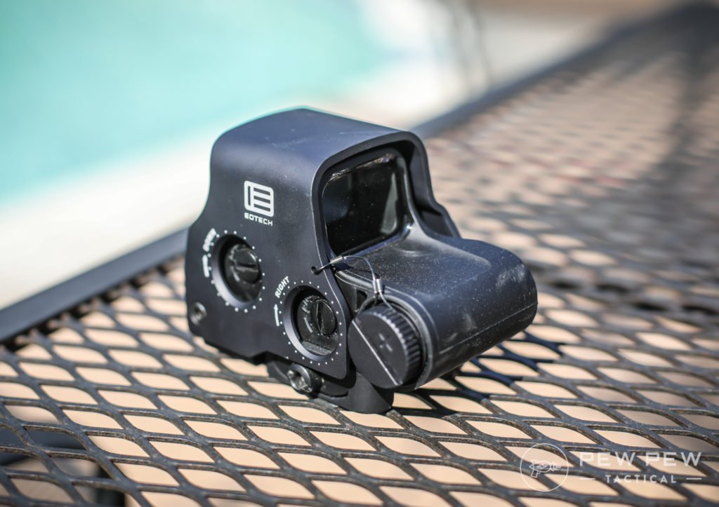 EOTech EXPS2-0, Adjustment
