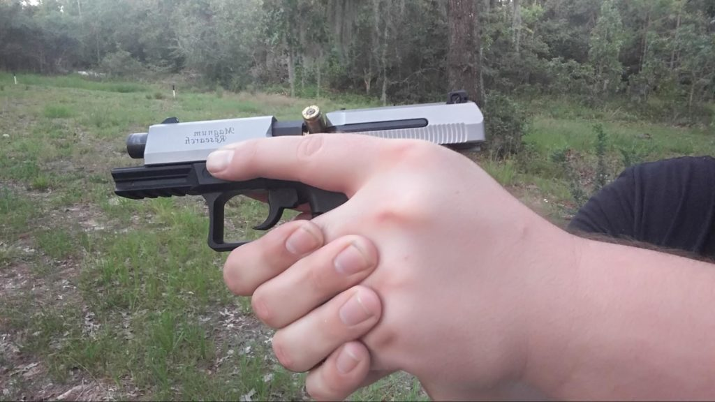 Handgun Malfunction