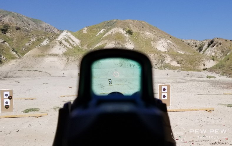 Holosun 510C At the Range