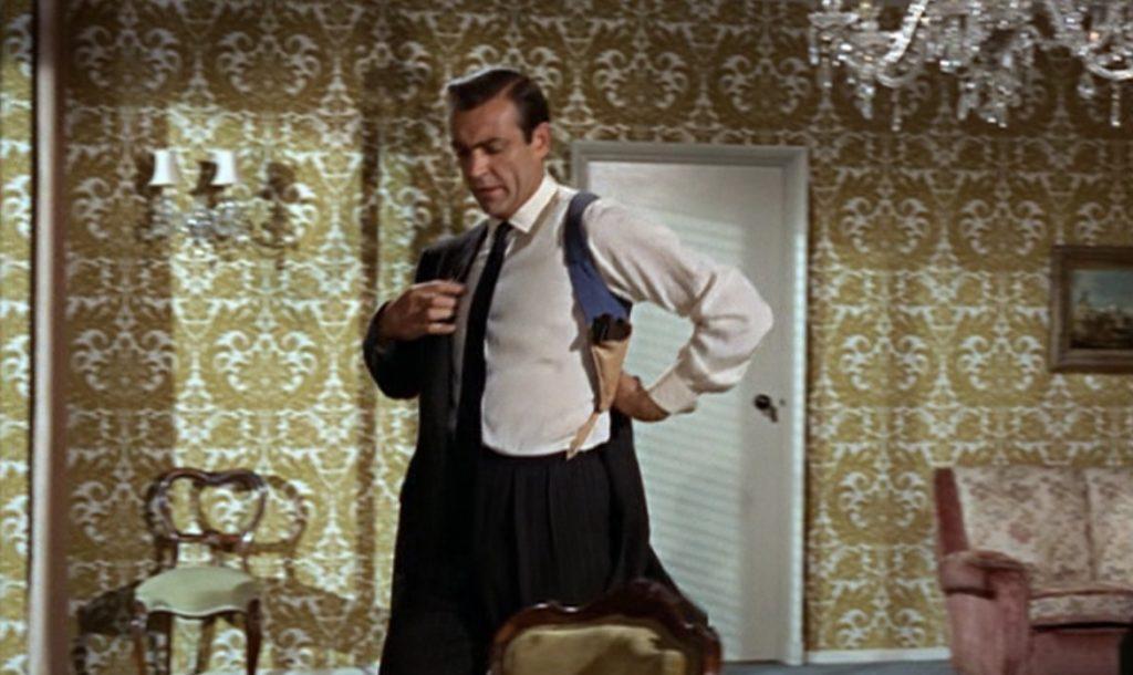 James Bond in Shoulder Holster