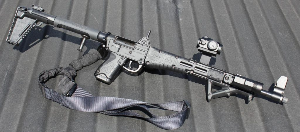 Kel-Tec Sub-2000: A 9mm Folding Carbine [Review] - Pew Pew