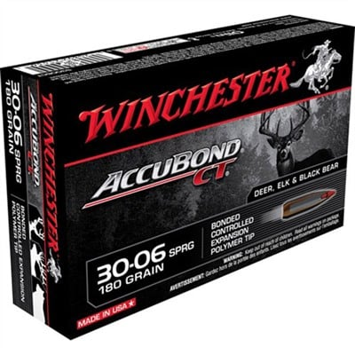 Winchester .30-06 180gn AccuBond CT