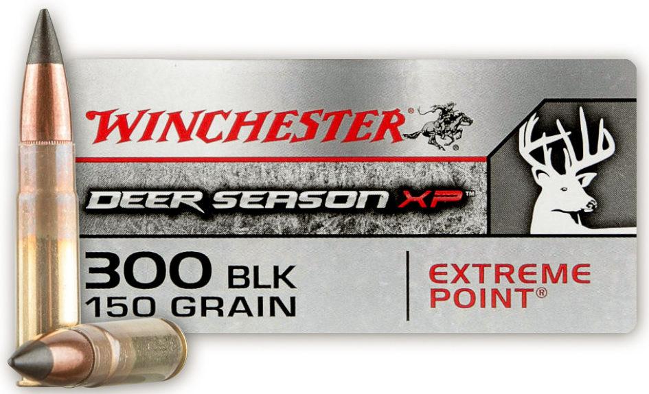 Winchester Deer Season .300 Blackout 150gn XP