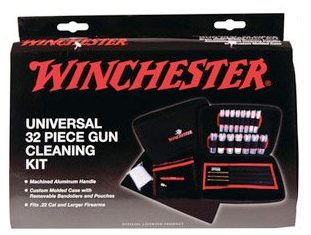 Winchester 32 Piece Universal Gun Cleaning Kit