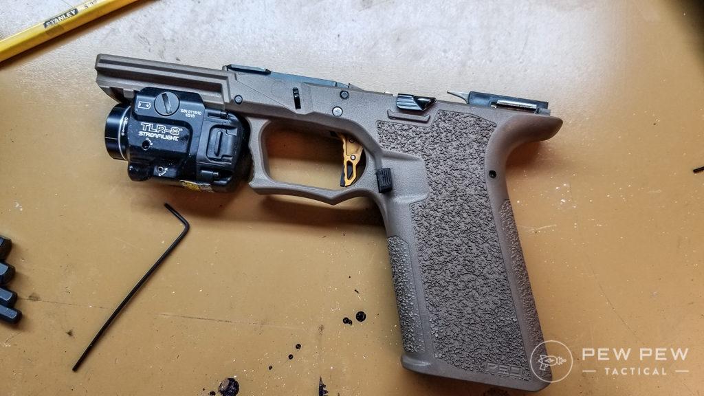 Completed Polymer80 Glock Frame