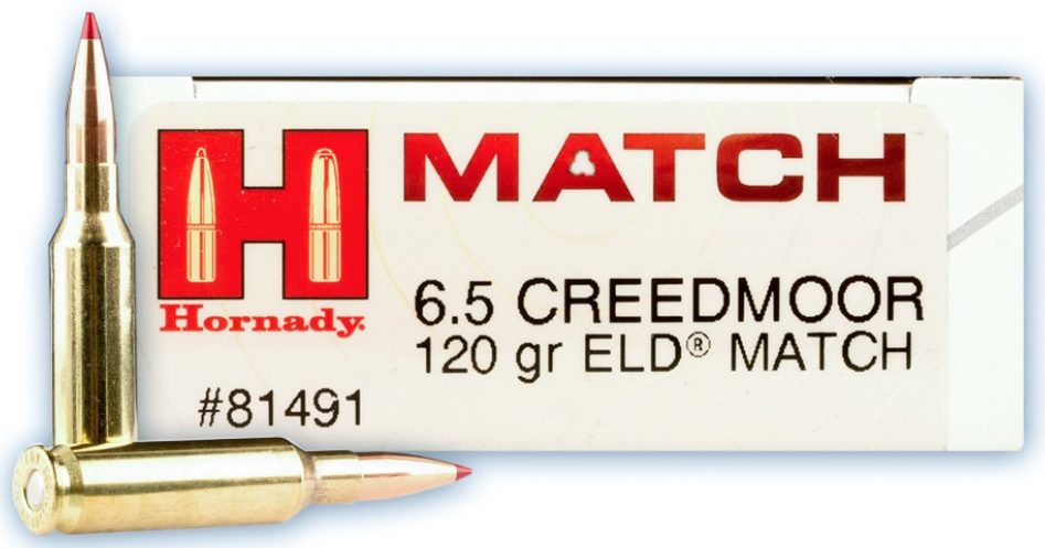 Hornady Match 6.5 Creedmoor 120gn ELD Match - 20 Rounds