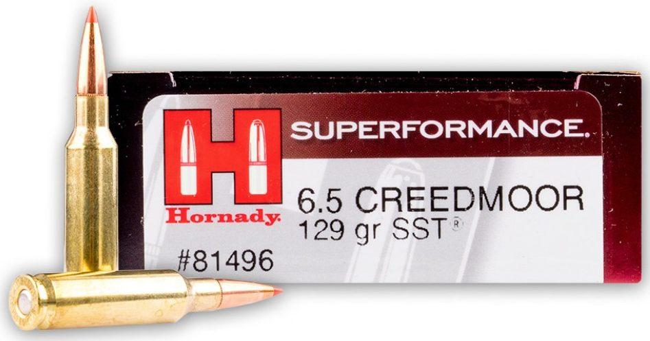 Hornady 6.5 Creedmoor 129 gr SST Polymer Tip - 20 Rounds