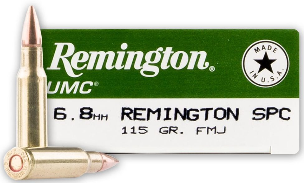Remington UMC 115gr 6.8 SPC - 20 Rounds