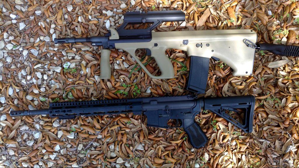 AUG Vs. 16 inch AR-15