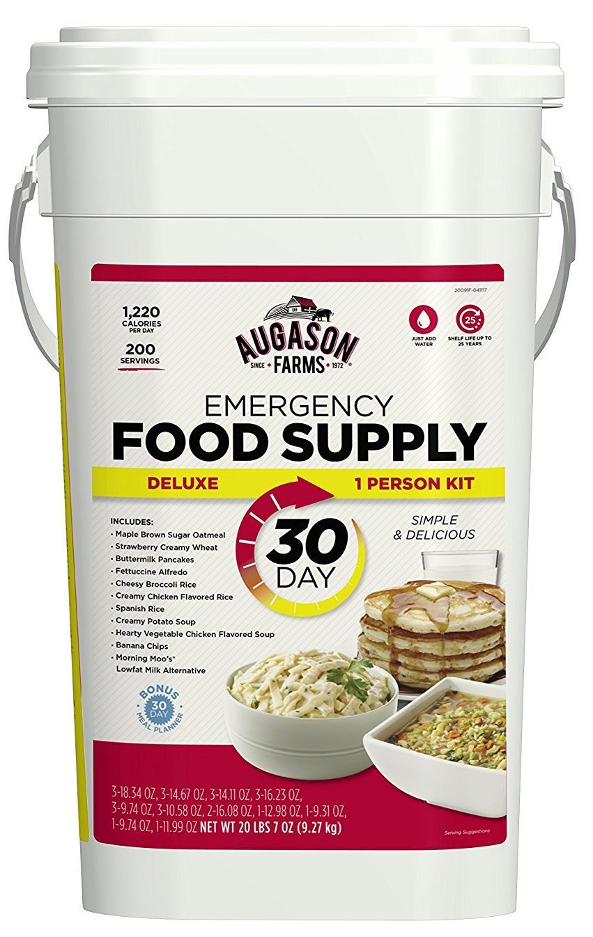 Augason Farms Deluxe Emergency 30-Day Food Supply
