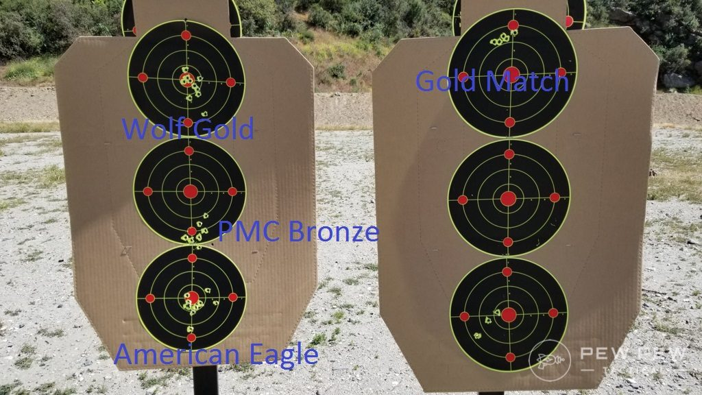 BSF Barrel Groups, Round 2
