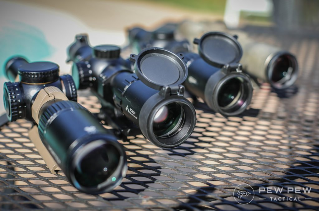 Bunch of 1-6x Scopes