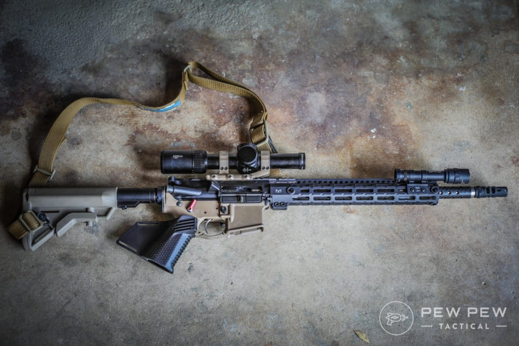 Competition Rifle with BSF Barrel