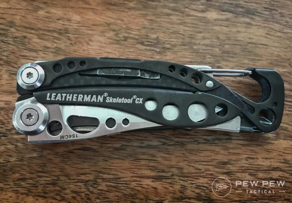 Leatherman Skeletool CX Closed