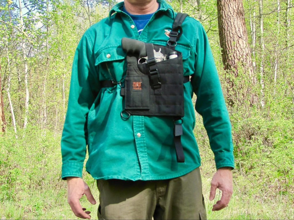 Man Gear Alaska Chest Holster
