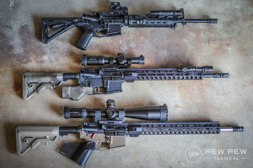 Review] Palmetto State Armory (PSA) AR-15 (3 Rifles) - Pew Pew Tactical