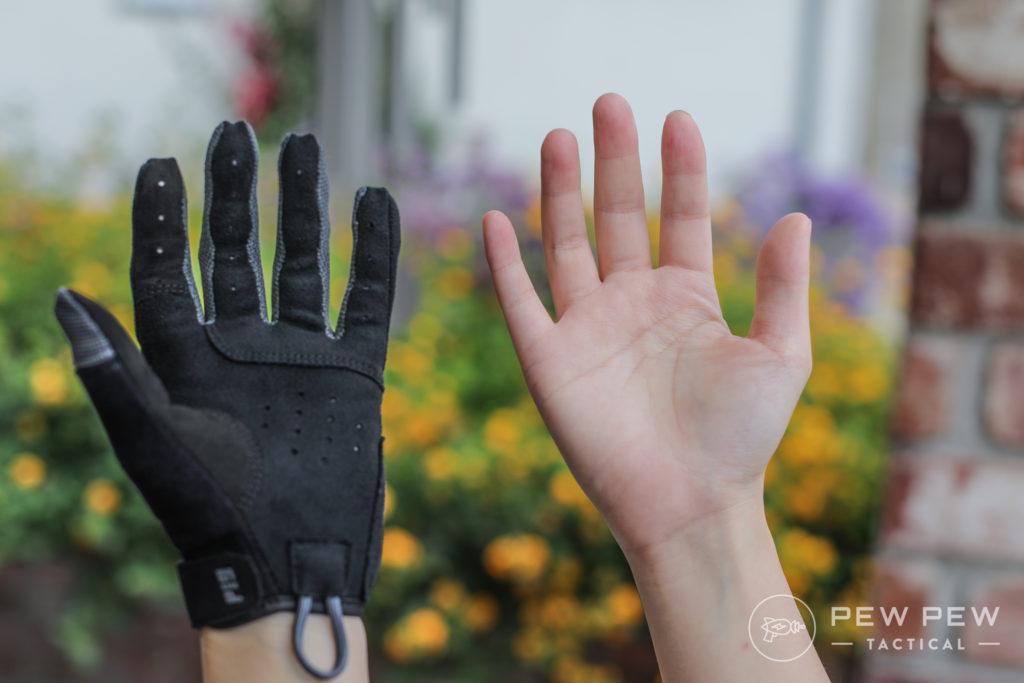 SKD FDT Charlie Gloves vs Hand
