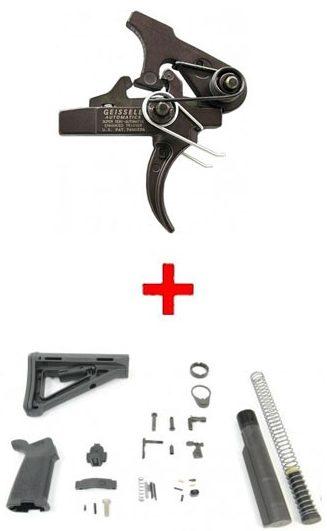 Geissele SSA-E Trigger + MOE Lower Build Kit