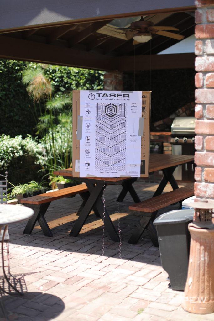 Taser Pulse Testing Target