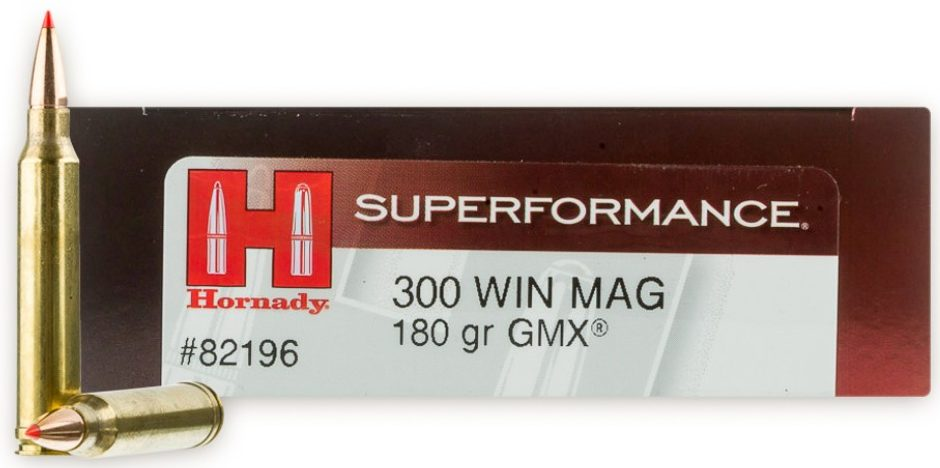 300 Win Mag - 180gr GMX - Hornady Superformance