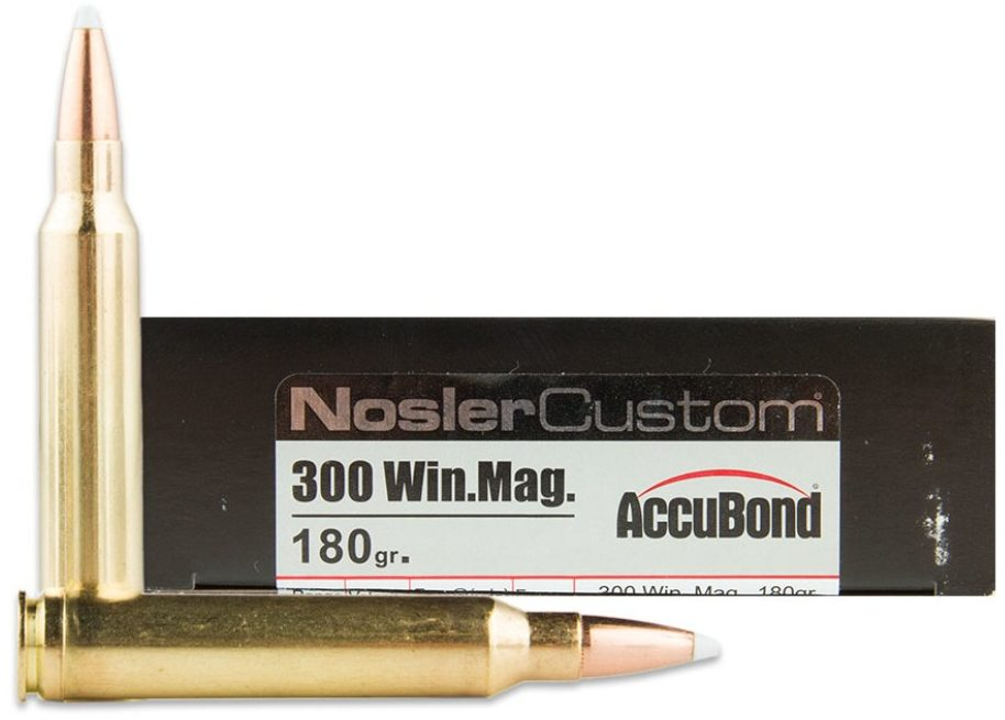 300 Win Mag - 180gr Accubond Nosler Custom Trophy Grade