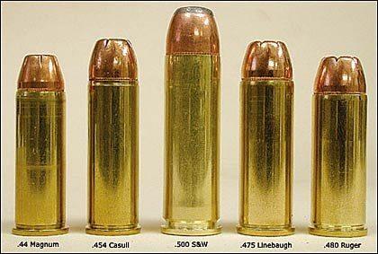 .44 Magnum, .454 Casull, .480 Ruger