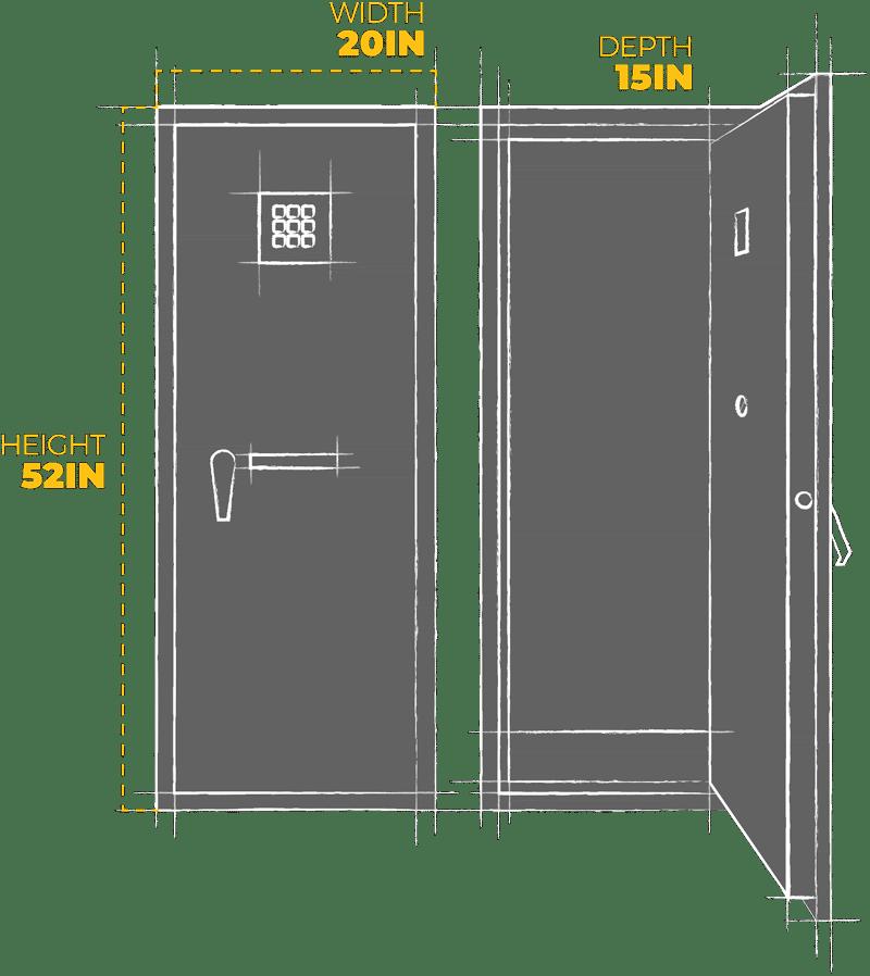 Agile 52 Dimensions