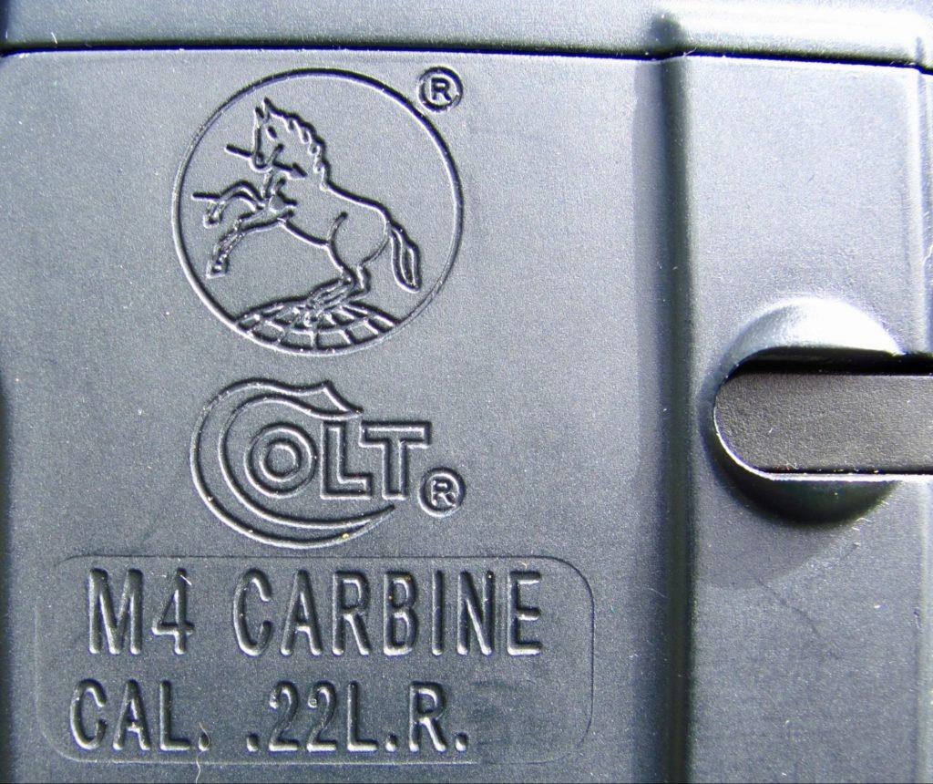 Colt Logo in .22 LR