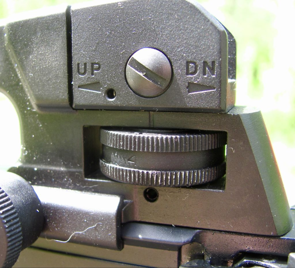 Colt M4 .22 LR Rear Sight