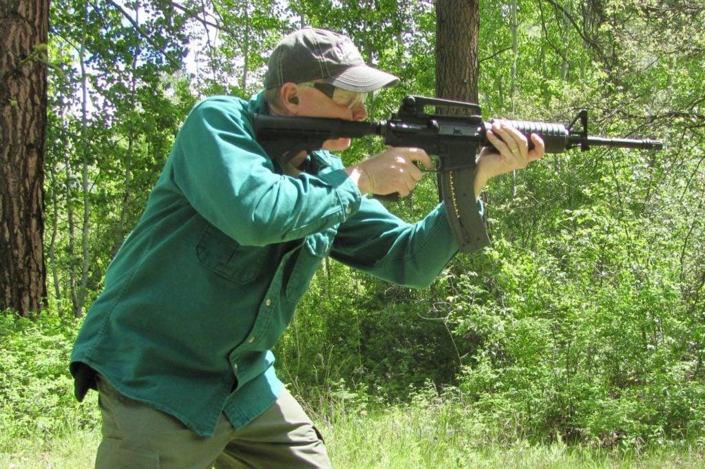 Colt M4 in .22 LR ADS