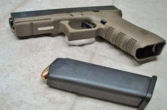 Glock 22 in Olive Drab