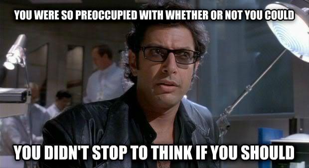 Jurassic Park Quote