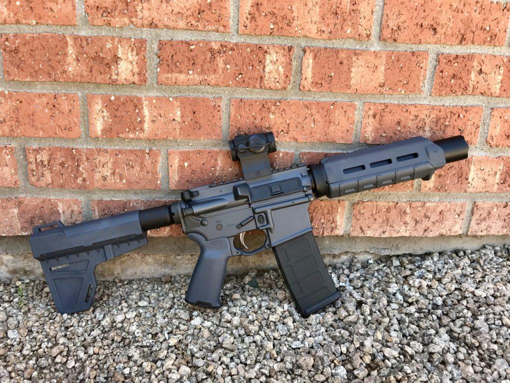 Lone Black AR-Pistol