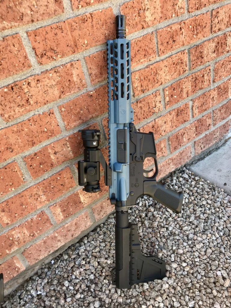 Lone Blue AR-Pistol