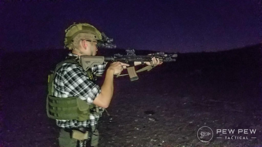 Looking Good with NVGs in the Desert