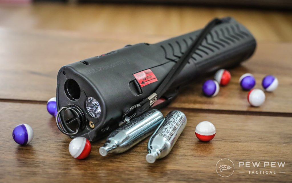 PepperBall LifeLite with CO2 and Projectiles