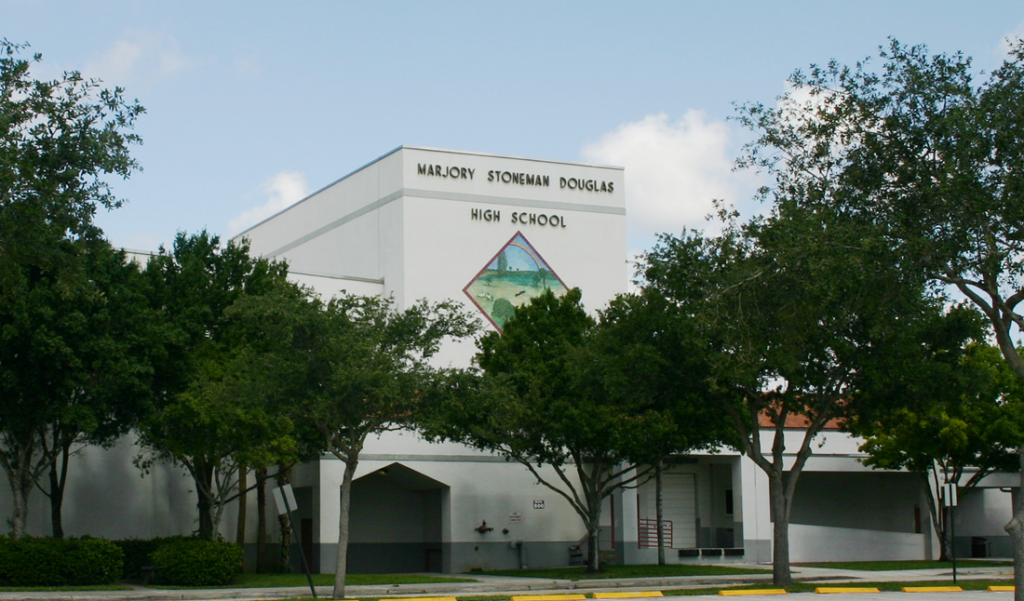 Site of the Parkland Shooting