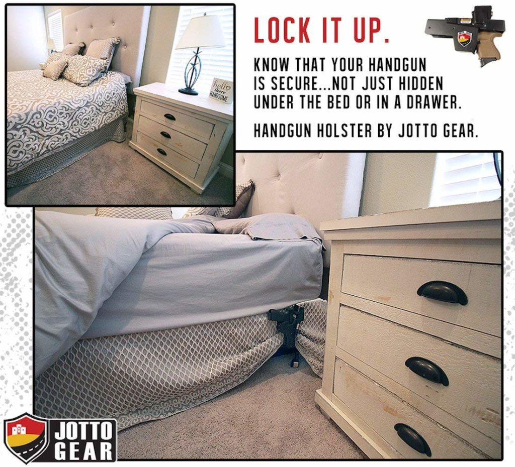 Steel Holster on Bed