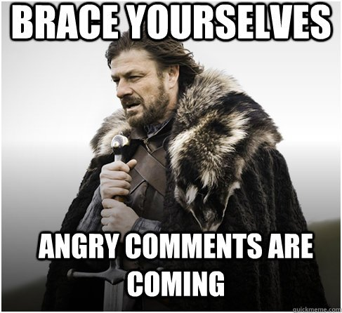angry comments