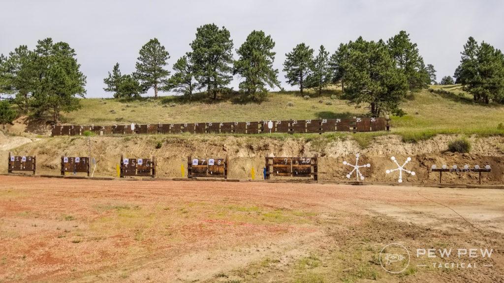 HBH 100 Yard Range with Steel