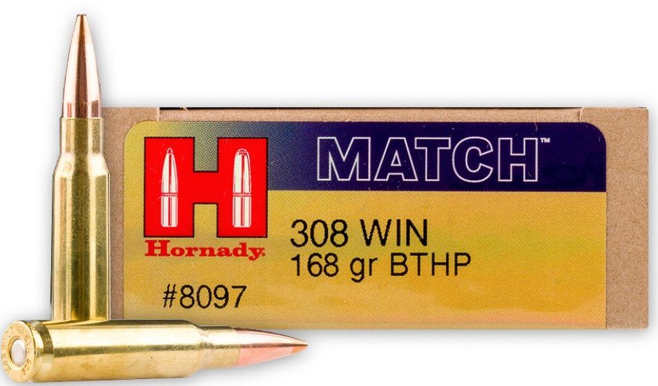 Hornady Match 168gr .308 BTHP