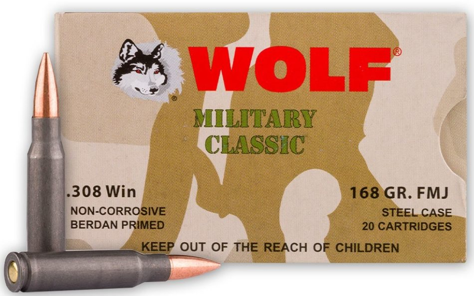 Wolf Military Classic 168gr .308