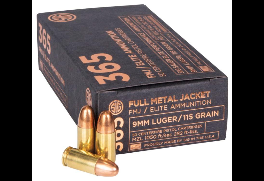 Sig 365 Ammunition