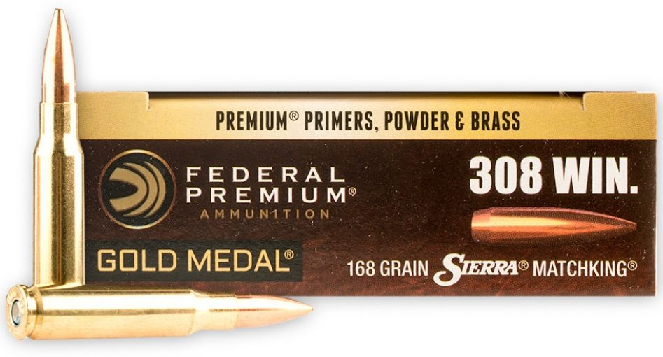 Federal Premium Sierra Match King Gold Medal