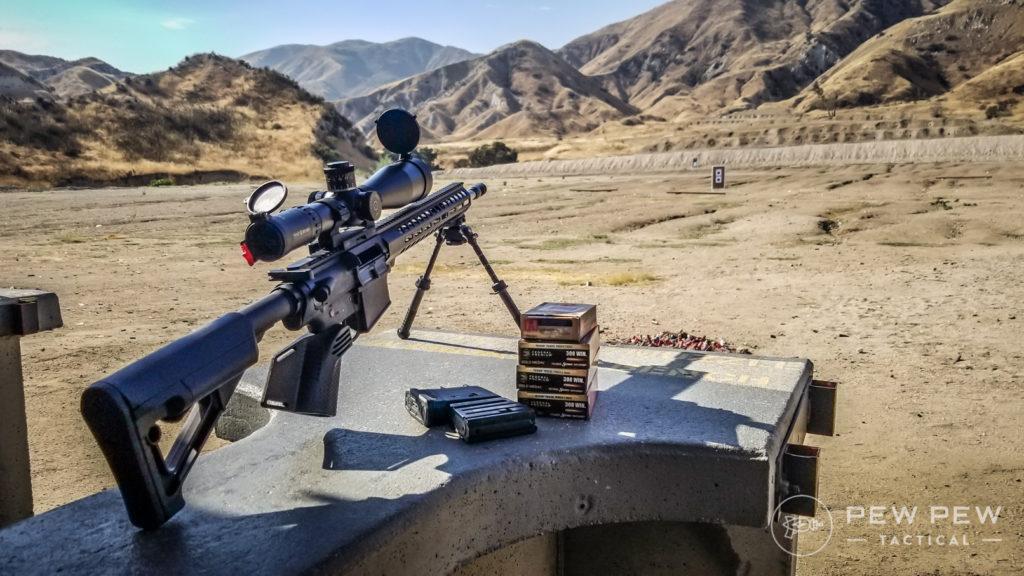 Long Range Testing PSA AR-10