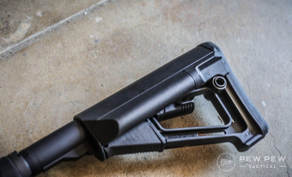 Magpul STR Stock on PSA 9mm