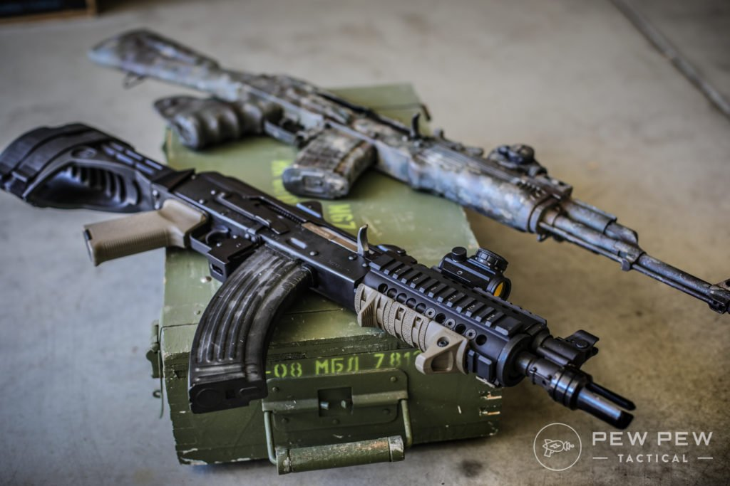 PAP M92 and WASR 10