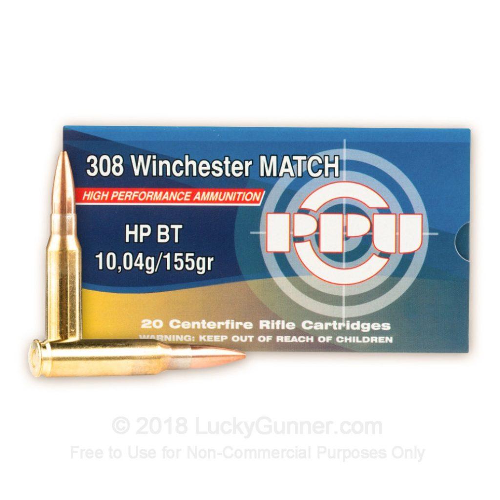 Best  308 Ammo [Target Shooting, Plinking, & Hunting] - Pew Pew Tactical